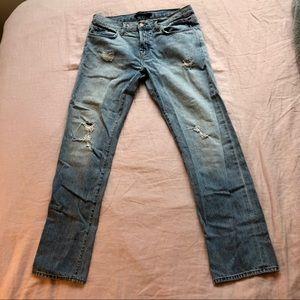 J Brand Sonny Boyfriend Jeans in Blissful